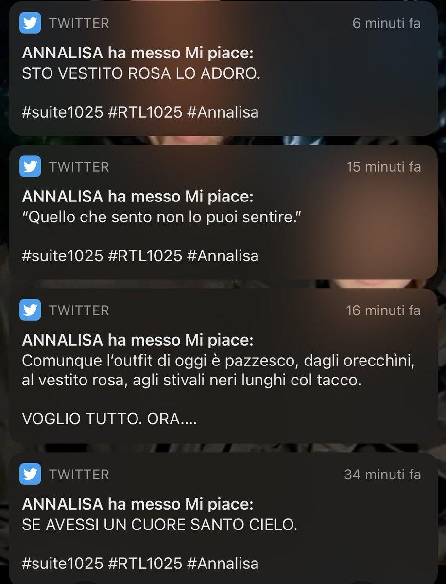 #Annalisa