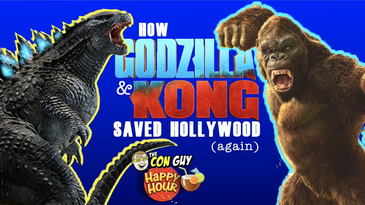 Did #GodzillaVsKong save #Hollywood? Looks that way, with #monster sized #BoxOffice and downloads on #HBOmax. Plus #toys and #collectibles flying off shelves. Are we ready for #movies in #Theaters now? #Godzilla #KingKong #Kaiju  Watch here at 8pm tonight!