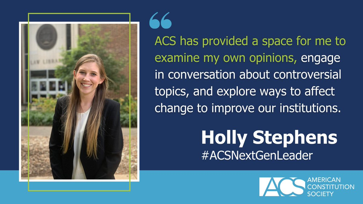 Meet the 2021 Class of Next Generation Leaders! We want to introduce you to just some of the amazing emerging leaders in the legal field who were selected for ACS's Next Generation Leaders program: https://t.co/QvAGhO0Vy3 #ACSNextGenLeader https://t.co/gGYpBEVzNH