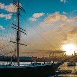 Image for the Tweet beginning: Hamburg - The Hanseatic harbor