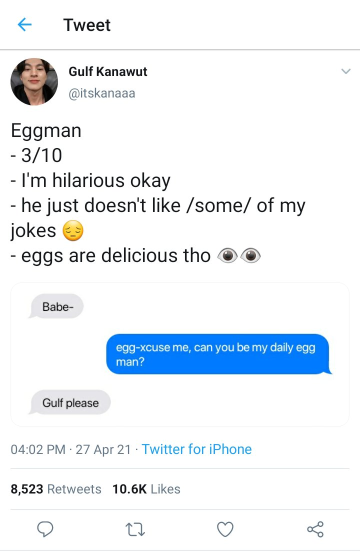 eggs are healthy as well
