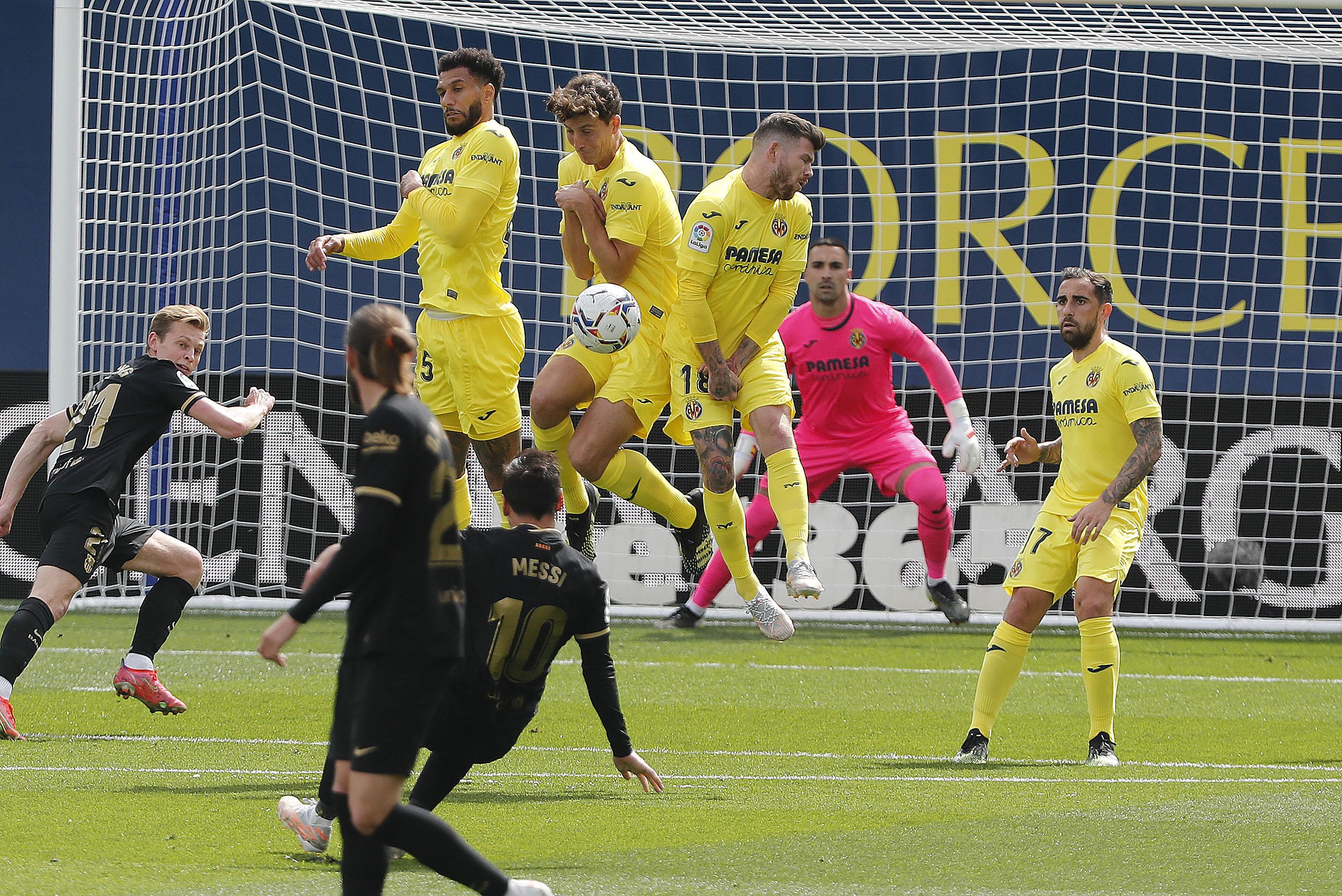 غريزمان يخطف فوز صعب لبرشلونة امام فياريال ويعيده للوصافة