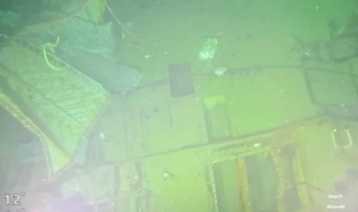 Найдены останки подводной лодки Нанггала