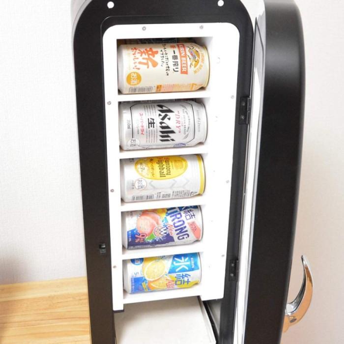 自宅に憧れの自動販売機を!自動販売機型保冷庫「俺の自販機」