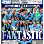 Image for the Tweet beginning: 'Fantastic'  #TomorrowsPapersToday