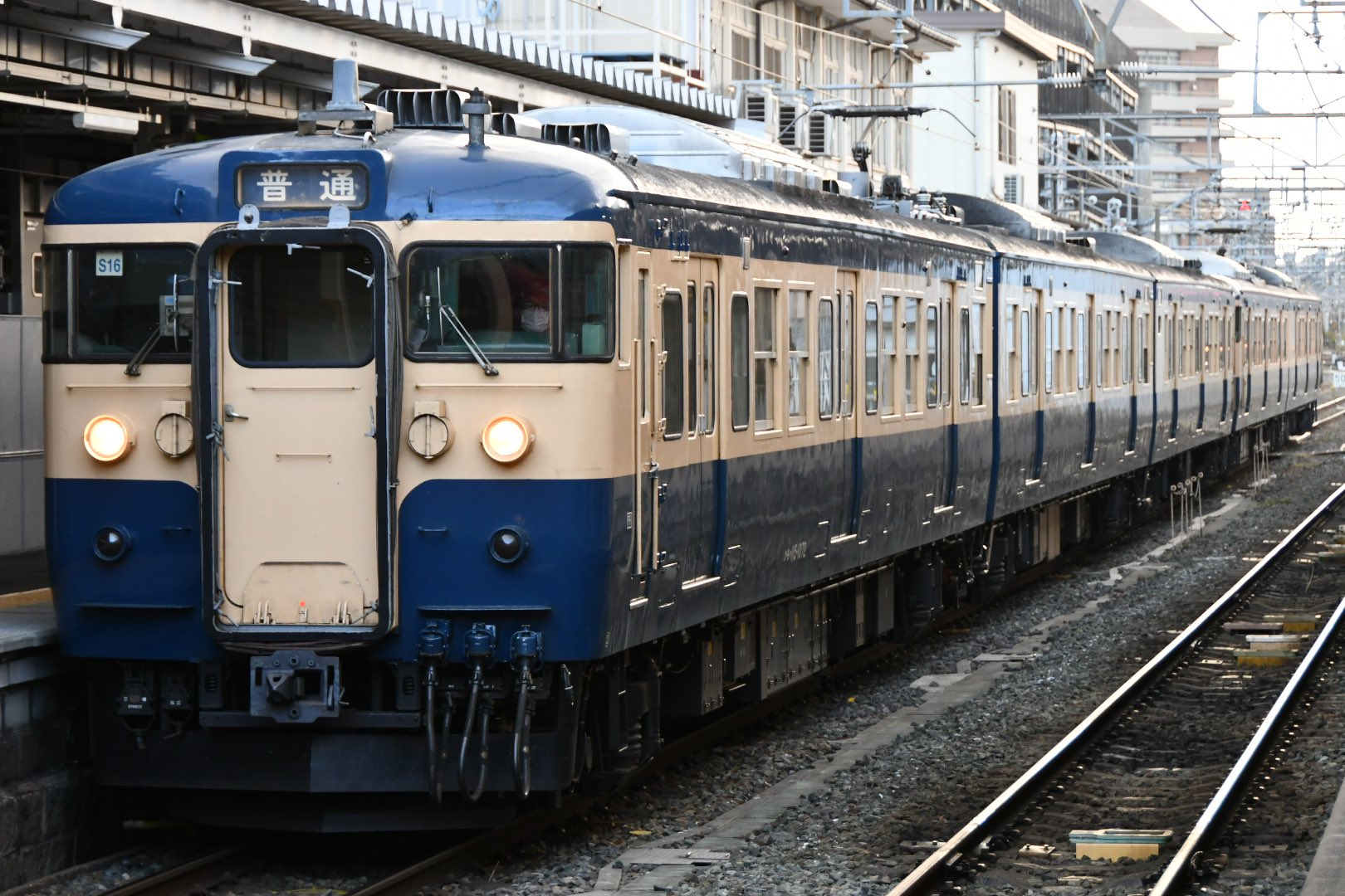 【スカ色】115系S26+S16編成がしな鉄で運転 団体臨時列車も運転