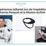 Veille #Esanté : Les expériences (e)Santé lors de l'expédition de #ThomasPesquet et la #MissionAlpha    Parmi les 11 expériences du @CNES , des innovations de la #healthtech pour étudier le #sommeil et le #cerveau   📌 : https://t.co/DkeyfJ1PZL #VR #réalitévirtuelle #hcsmeufr
