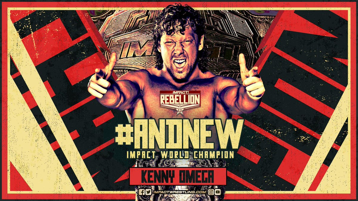 AEW Reacts To Kenny Omega Winning The Impact Wrestling Title