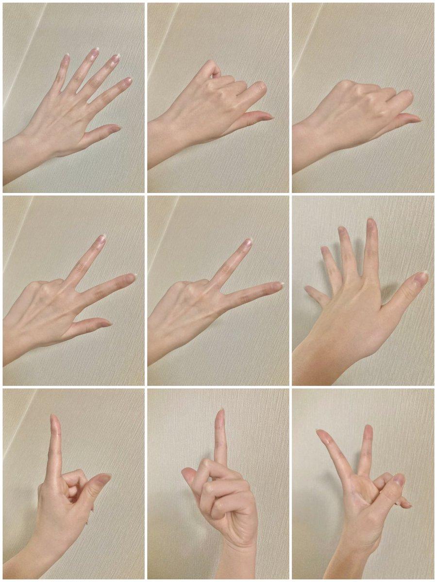 使える女性らしい手の資料!絵描きさん、手の描き方をマスターしたい方どんどん使いましょう!