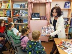 Cотрудничество с детскими библиотеками города