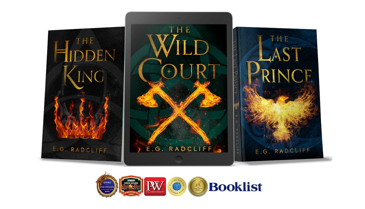 """A touch of Celtic fae mythology is the inspiration for The Coming of Áed fantasy trilogy 🔥  """"...the writing is crisp and the world-building is rich in this promising series opener with faerie influences."""" -Publishers Weekly     #books #KindleUnlimited"""
