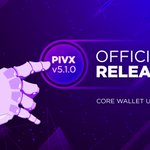 Image for the Tweet beginning: 🎉PIVX 5.1 is LIVE!🎉  We're really