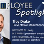 Image for the Tweet beginning: ⭐️#EmployeeSpotlight⭐️ Troy Drake joined McClure's #Maryland