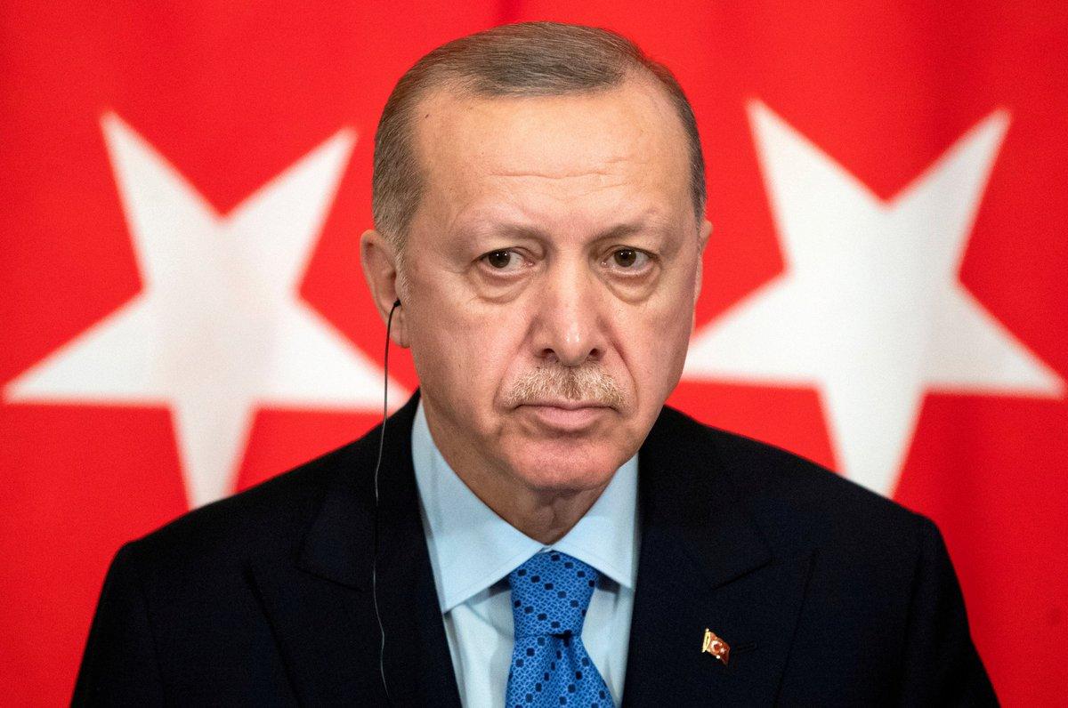 أردوغان يعلن الإغلاق العام في تركيا اعتبارا من الخميس ٢٩ أبريل الجاري وحتى ١٧ من شهر مايو المقبل.