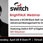 Image for the Tweet beginning: Don't miss the @BrightTALK webinar: