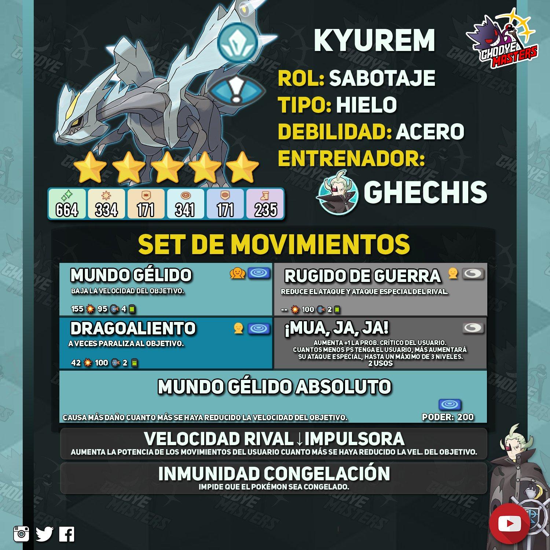 Kyurem Pokémon Masters EX