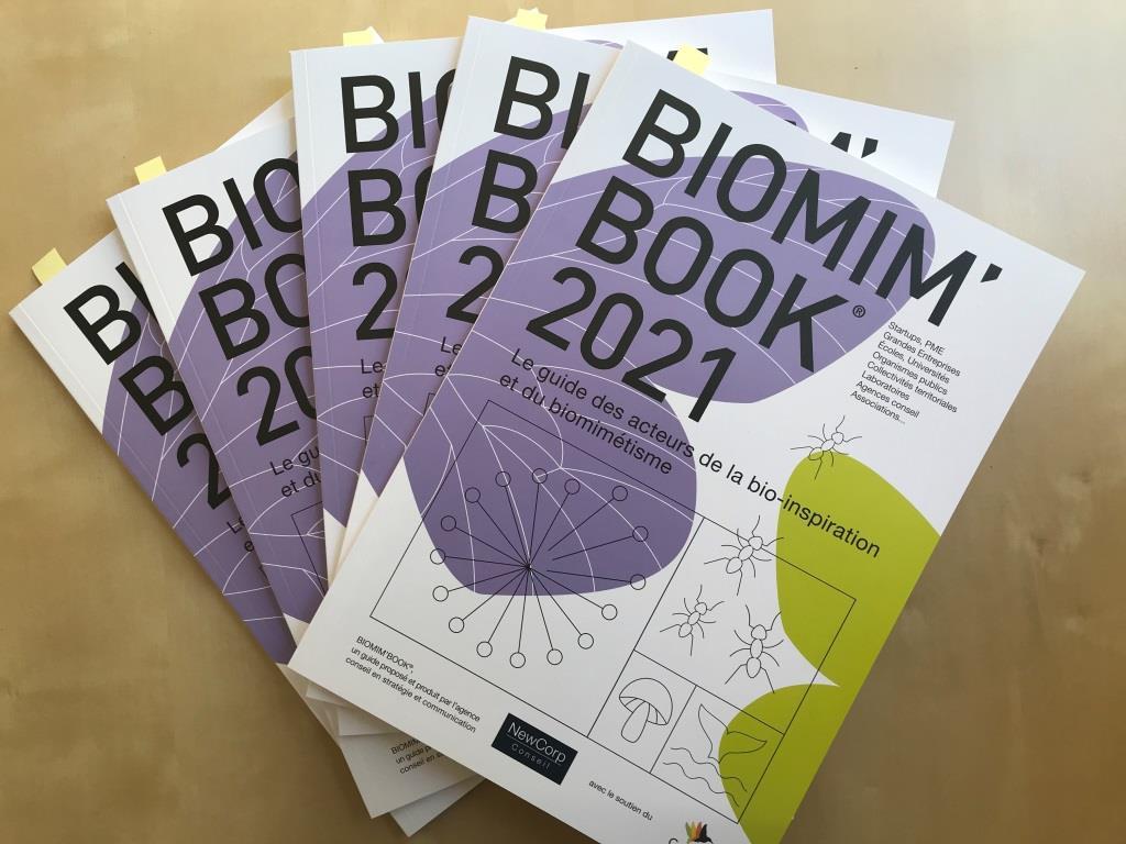Réception ce matin du superbe guide #BiomimBook de @BiomimExpo où @Push4mSas est référencée avec tous les grands acteurs du #biomimétisme un processus d'#innovation qui s'inspire des formes matières propriétés processus et fonctions du vivant. 👏  https://t.co/vZpkB5HeeW