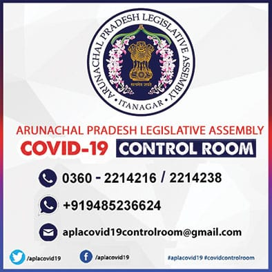 The #ArunachalPradesh Legislative Assembly (#APLA) #CovidControlRoom was reactivated to assist the members in redressing the issues of stranded workers and students of their respective constituencies amid the #CoronavirusPandemic.