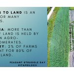 Image for the Tweet beginning: The price of agricultural land