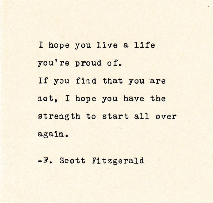 A #ThursdayThought from #FScottFitzgerald   #MaybeThereAreSecondActs https://t.co/CoDmgWuRbF