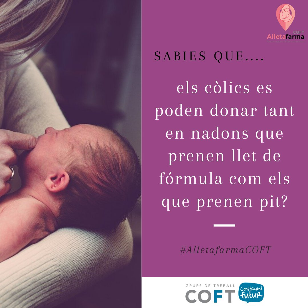 test Twitter Media - 📣 Sabies que...  ...els còlics es poden donar tant en nadons 👶 que prenen llet de fórmula 🍼 com els que prenen pit❓  ℹ️ Informa't a una farmàcia #Alletafarma, troba-la a: https://t.co/ANCWRUe3Je  #alletafarmaCOFT #lactanciamaterna https://t.co/MuAFFpZL80