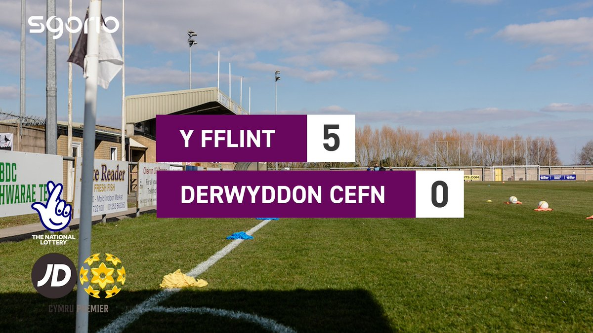 Image for the Tweet beginning: Uchafbwyntiau | Highlights  @FlintTownFC 5-0 @CefnDruids
