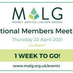 Image for the Tweet beginning: Our next National Members Meeting