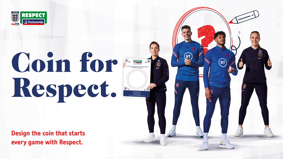 With the world becoming more tribal and polarised over the past few years, we believe it's vital to encourage mutual respect, and are proud to be working with @AskNationwide and the @FA on a campaign that promotes values that represent us as a brand.  #CoinForRespect #BeKind