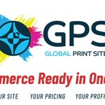 Image for the Tweet beginning: Global print sites - Global