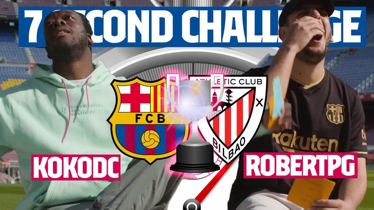 7️⃣-Second Challenge ⏰ 🔥 @RobertPG94 🆚 @KokoDC_ 😂 https://t.co/1oQWZTOwqB