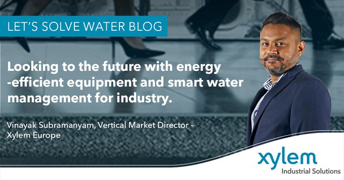 For industry, managing water efficiently is a key sustainability objective. In this @XylemWater blog, Vinayak Subramanyam explains the smart technolog...