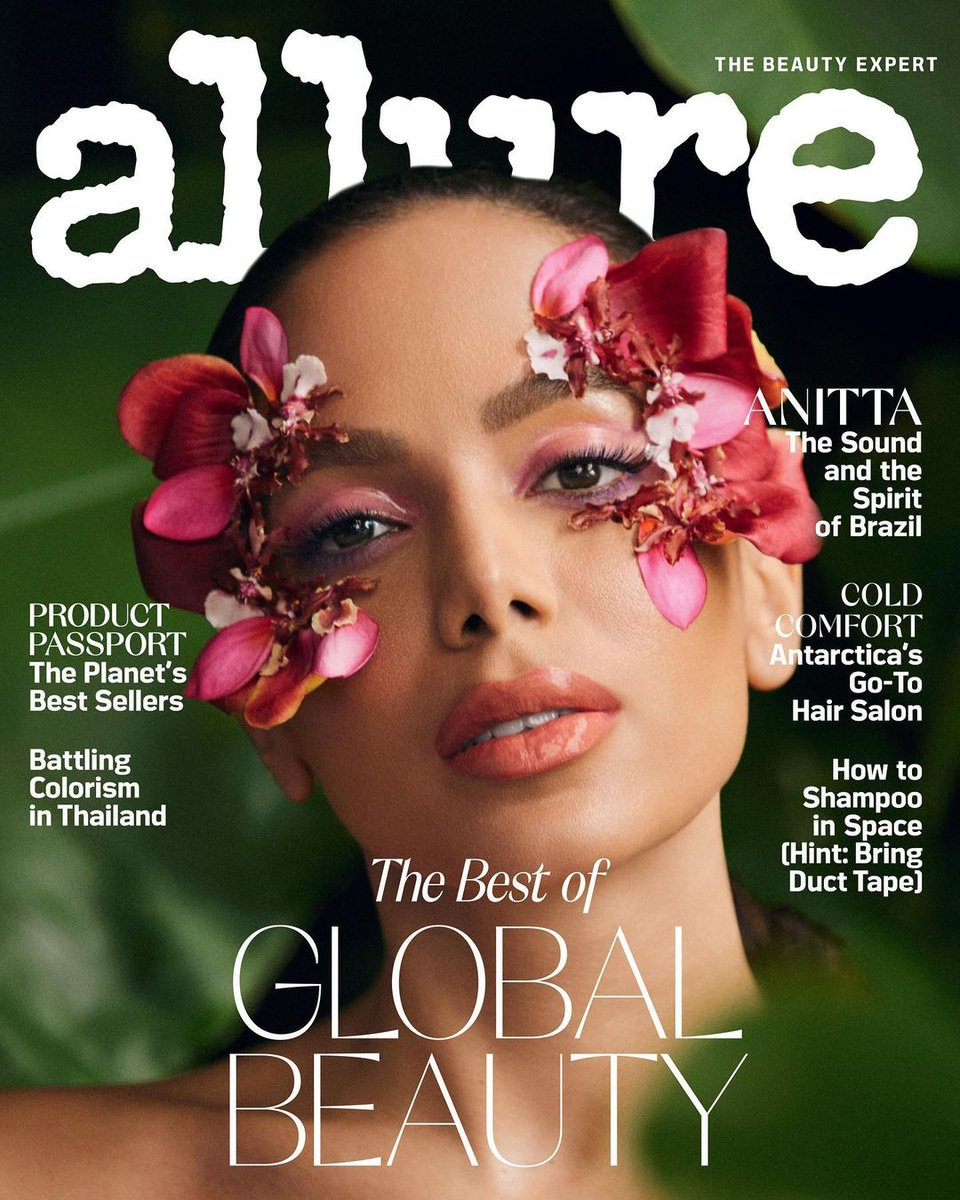 """Allure cover 😍 Announcing my next single """"GIRL FROM RIO"""" coming on APRIL 30th @Allure_magazine"""