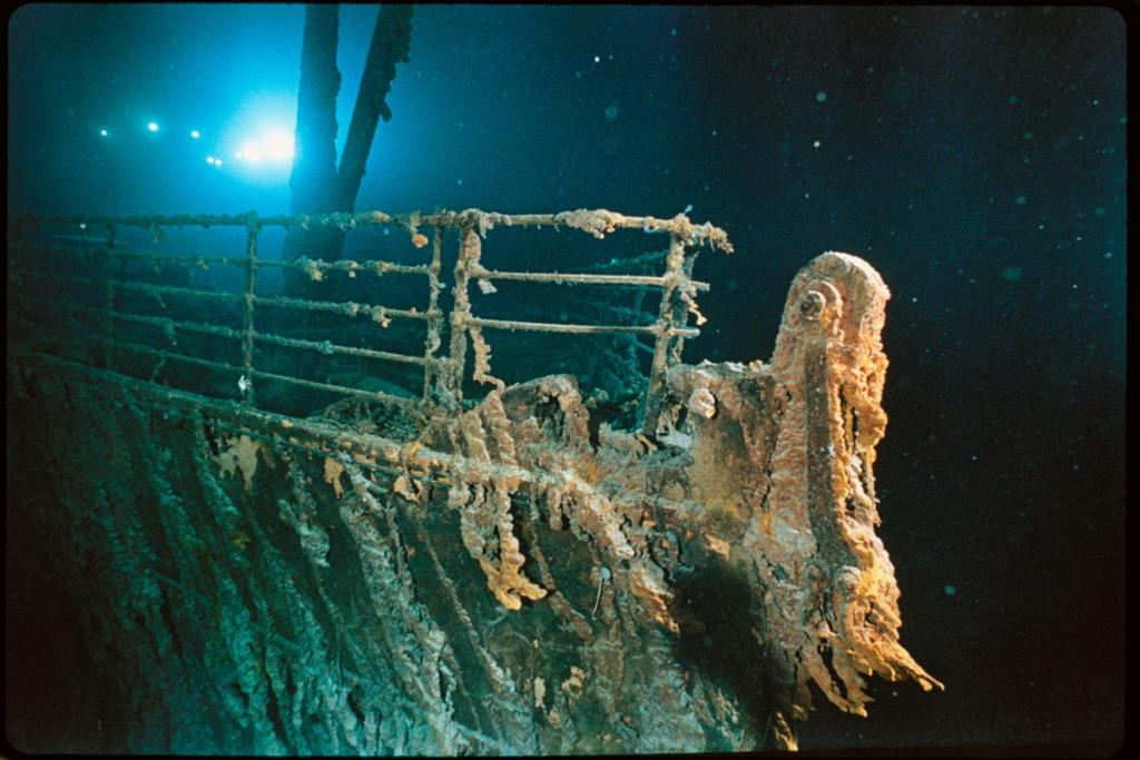 """Today, we commemorate the sinking of the Titanic and the lives lost on April 15, 1912. @InsideNatGeo Explorer at Large Bob Ballard stunned the world when he discovered the wreckage of the ship in 1985. Check out these photos from our past exhibition """"Titanic: The Untold Story."""" https://t.co/ipCmMK8HoR"""