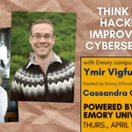 How can thinking like a hacker improve your #cybersecurity? Join Emory's @QuaveEthnobot and Emory computer scientist (and former hacker) @YVigfusson April 15 at 1 p.m. for a Facebook Live discussion on protecting your data: https://t.co/tJutMsnoAY