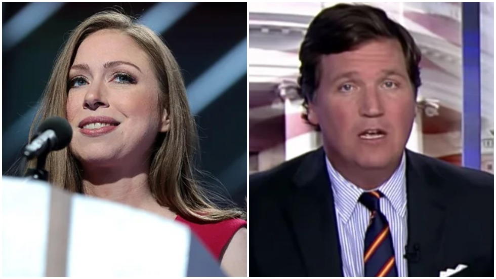 """The Hill on Twitter: """"Chelsea Clinton calls on Facebook to ban Tucker  Carlson https://t.co/oYtRA0V4Km… """""""