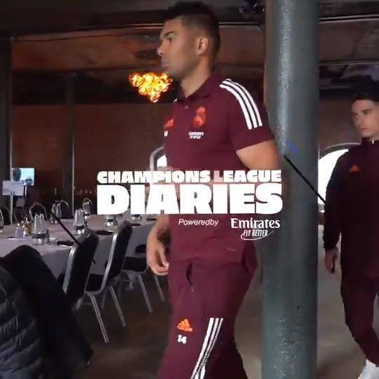 ✨🆕 @ChampionsLeague DIARIES 😍 ¡EL PASO A SEMIS! 🎬 ¡Gran esfuerzo del EQUIPO! ↪️ VIDEO COMPLETO: https://t.co/cImWh18mbI  @emirates   #UCL https://t.co/vJMgpZ6iXC