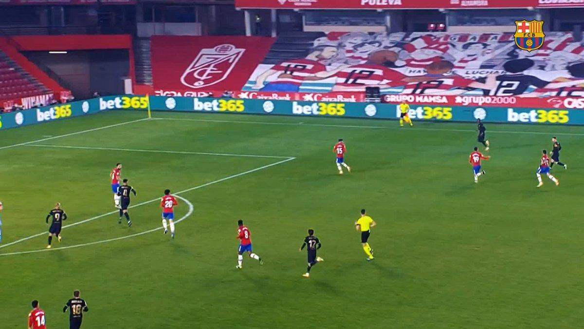 🛣🏆 𝚁𝚘𝚊𝚍 𝚝𝚘 𝚝𝚑𝚎 𝙲𝚘𝚙𝚊 𝚍𝚎𝚕 𝚁𝚎𝚢 𝚏𝚒𝚗𝚊𝚕 𝗚𝗢𝗔𝗟 𝗡𝗨𝗠𝗕𝗘𝗥 6️⃣ Quarterfinal 🆚 Granada @JordiAlba (90 + 2') 💥 https://t.co/PbSQTxpCet