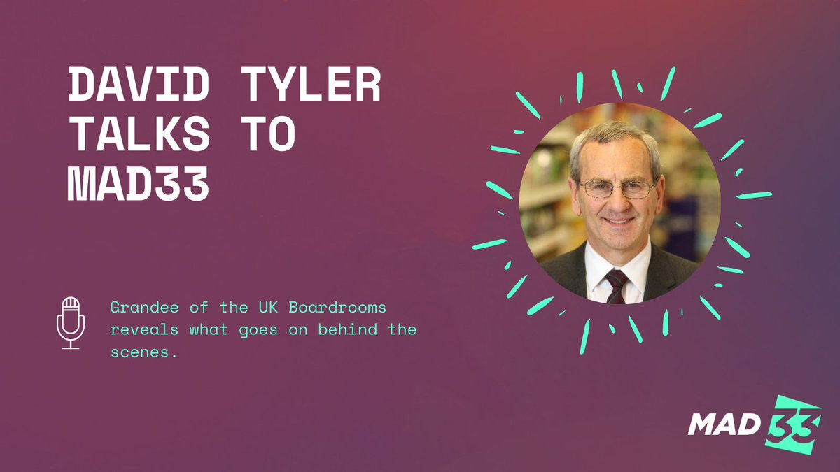 test Twitter Media - Take a deep dive into our interview with the grandee of UK boardrooms - David Tyler. Learn what is top of boardroom agendas, and when should companies be broken up and why: https://t.co/K7OFyvlegU  #MadeADifference #leadership #inspirationalleadership #inspire #motivational https://t.co/xG3fB5LJgF