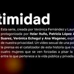 📺👀 En cuanto a series, llega a la plataforma #Intimidad, una serie creada por Verónica Fernández y @LauraSPallares y protagonizada por Itziar Ituño, Patricia López Arnaiz, Emma Suárez, @VEchegui y @ana_wagener