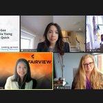 Image for the Tweet beginning: Fairview Partner Cynthia Tseng spoke