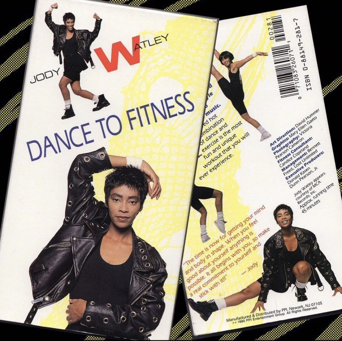 """#tbt 90's but Still True!  —  """"The time is now for getting your mind and body in shape. When you feel good about yourself anything is possible. It all begins with you, so make a commitment to yourself and stick with it.""""  - Jody Watley"""