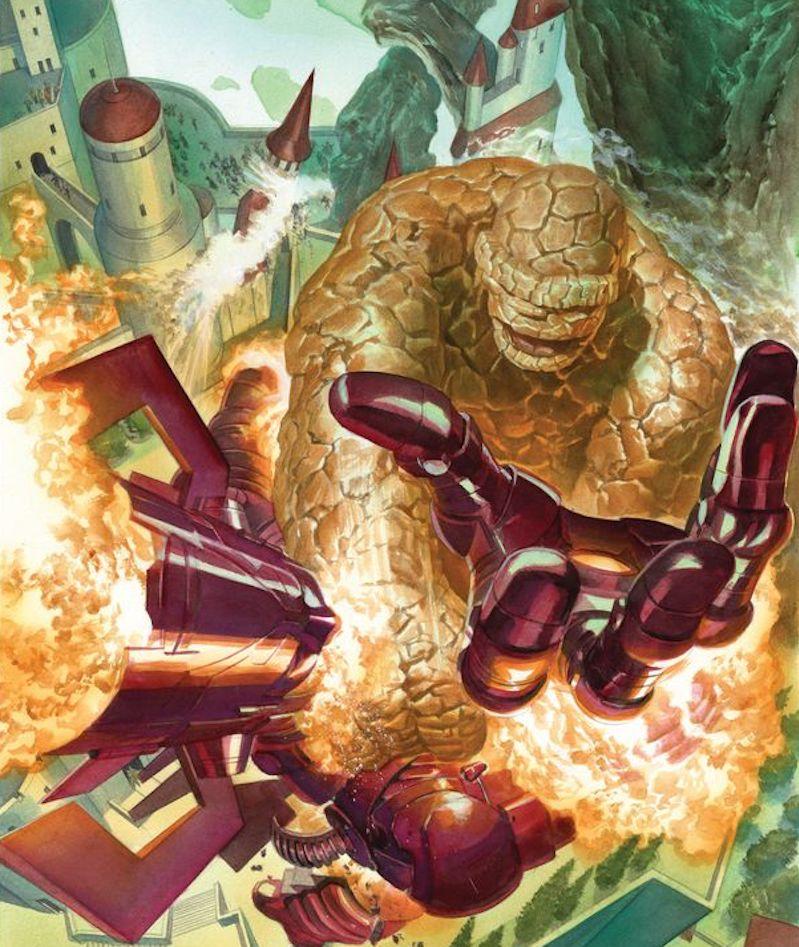 RT @thealexrossart: Secret Wars #8 #marvel #secretwars #thing #galactus #fantasticfour #comicart #tbt https://t.co/5Zcv9wtsCS