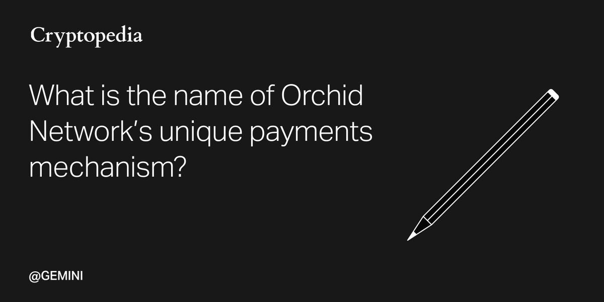 Test your knowledge! Take @Gemini's new Orchid quiz for a chance to win $OXT. Good luck!