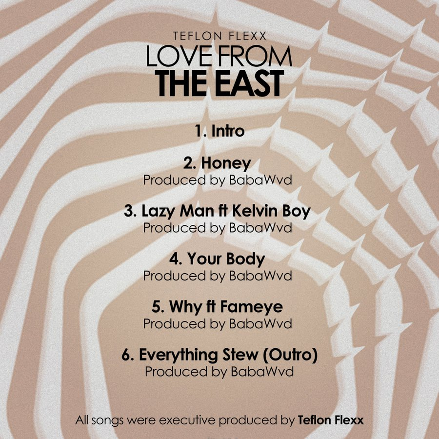 Teflon Flexx unveils track-list for forthcoming EP 'Love from the East' museafrica