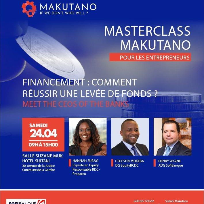 @KSubayi est responsable des investissements en #RDC via @Proparco #ChooseAfrica. Elle est également business angel et administratrice du réseau African Business Angel Networks (@ABANAngels).Elle nous donnera les clés de succès pour une levée de fonds réussie. https://t.co/XO7FdM47p4