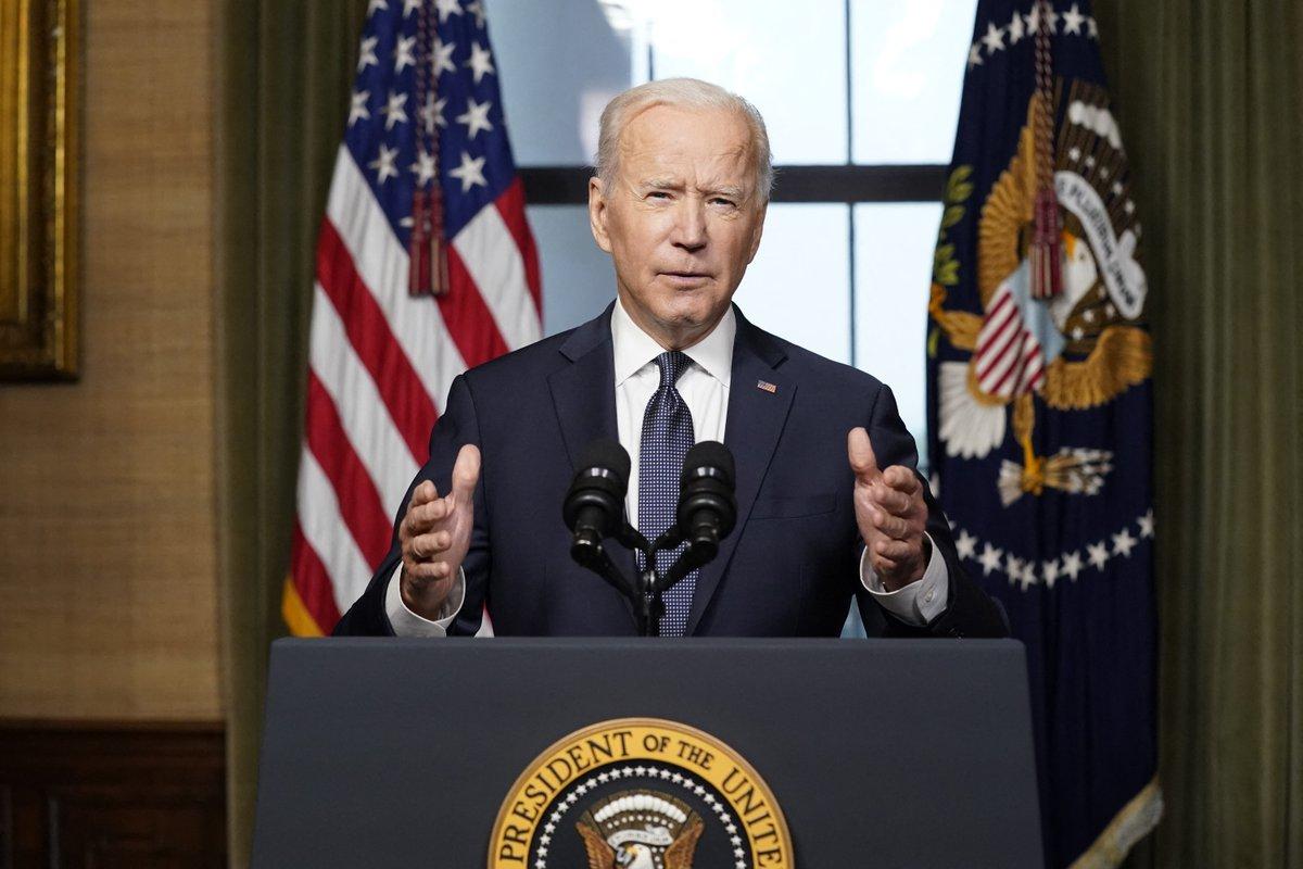 عاجل.. الرئيس الأمريكي جو بايدن العقوبات على روسيا لردعها عن الإضرار بمصالحنا صحيفة الخليج الخليج خمسون عاماً