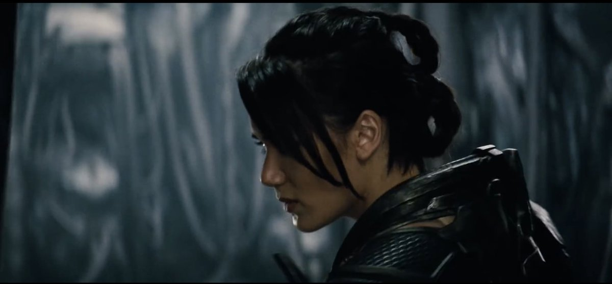 Samantha Win in Zack Snyder projects.  She's a badass. https://t.co/RpQw5iswVm