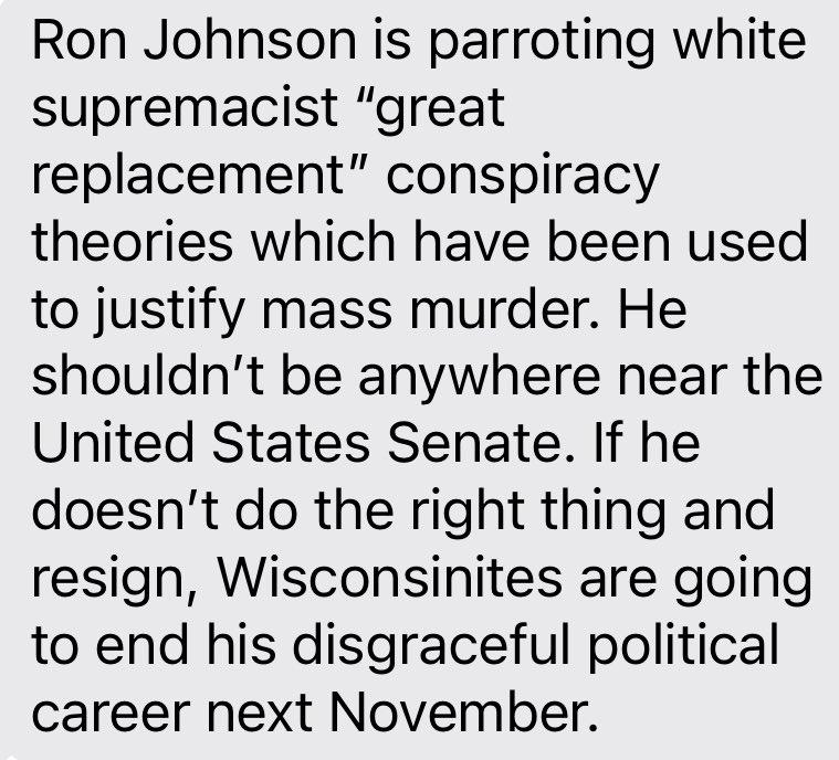 Wisconsin Dem chair @benwikler on this Johnson interview https://t.co/5wmzUS2uZN https://t.co/dzMajauLRL