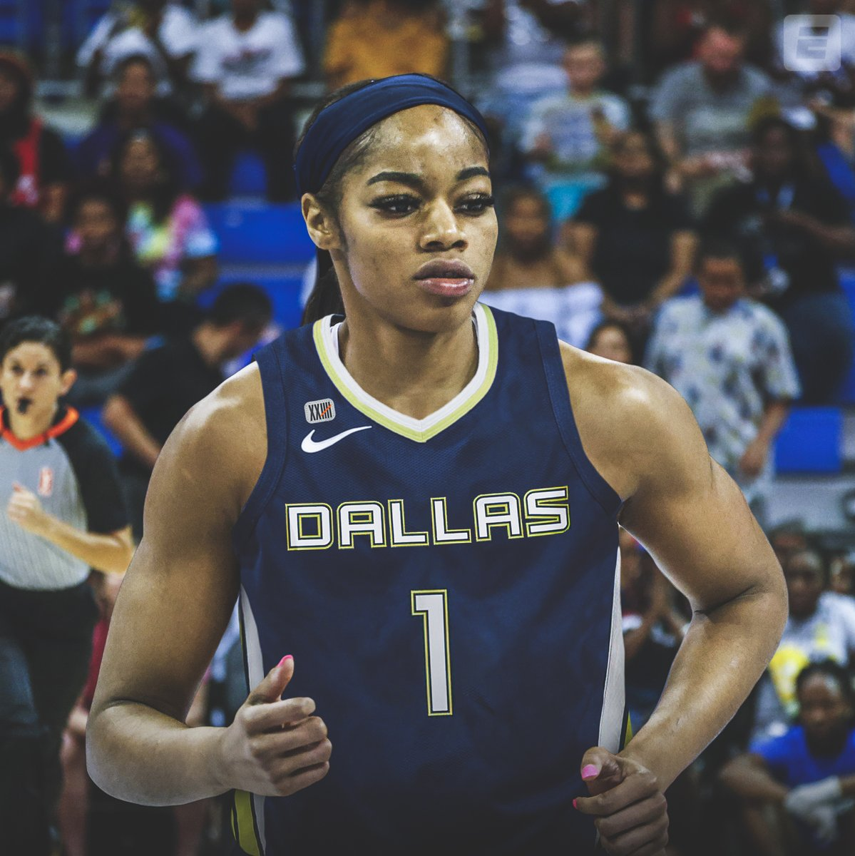 Staying in Texas!  The @DallasWings select @charlicollier No. 1 overall in the @WNBA draft 👏 https://t.co/8zYa234zSp