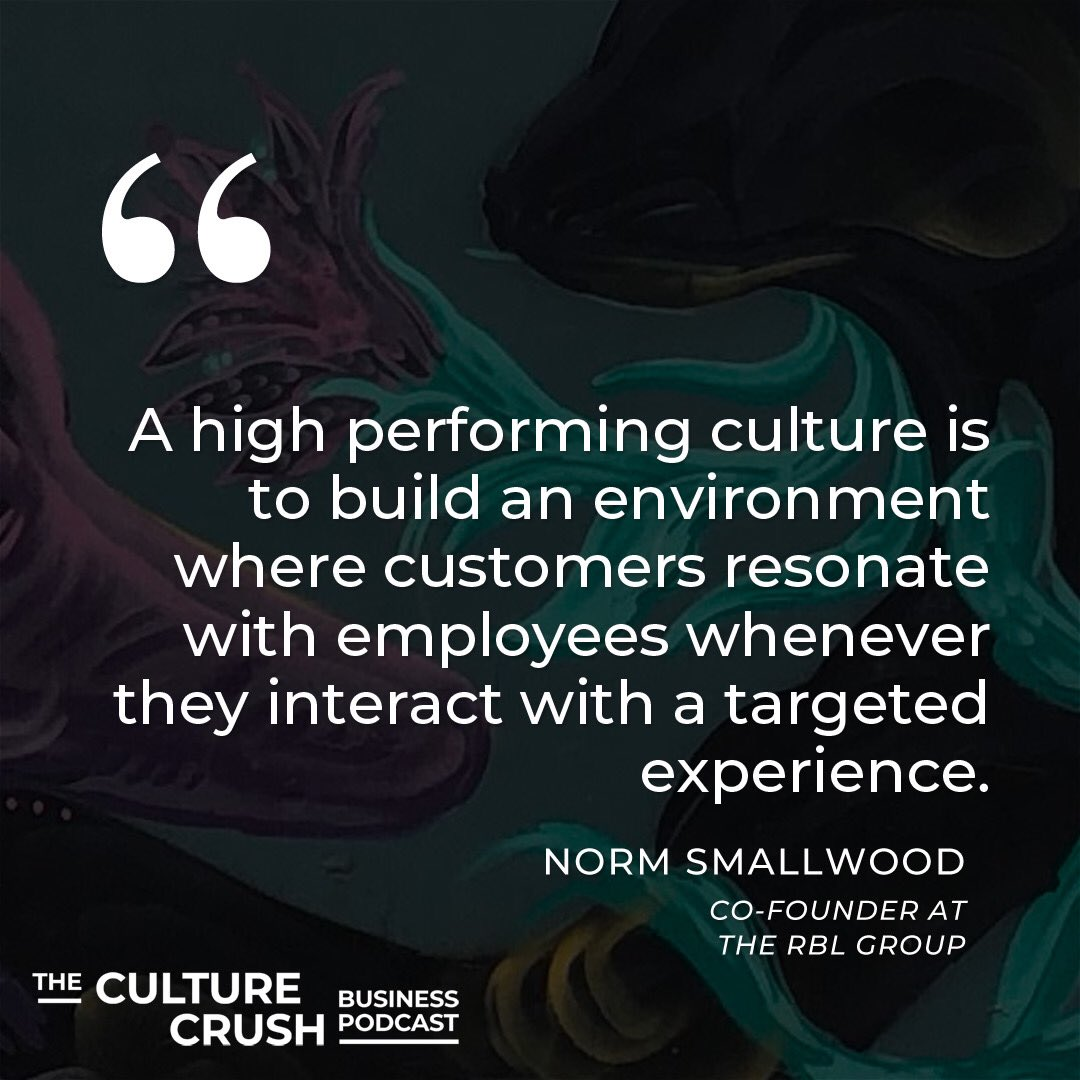 Customers resonating with the employees ❤️❤️  Thanks @normsmallwood   #companyculture #companyculturematters #employees #customers #support #culturecrushpodcast #crushingit #crushit #podcast #podcasts #podcastshow